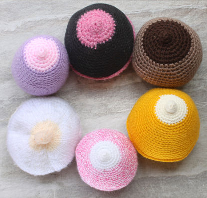 Picture of Hand-Knitted Breast