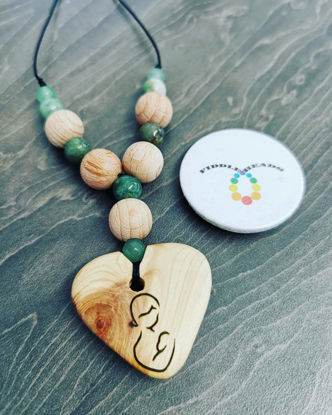 Picture of Gemstone Breastfeeding Necklace
