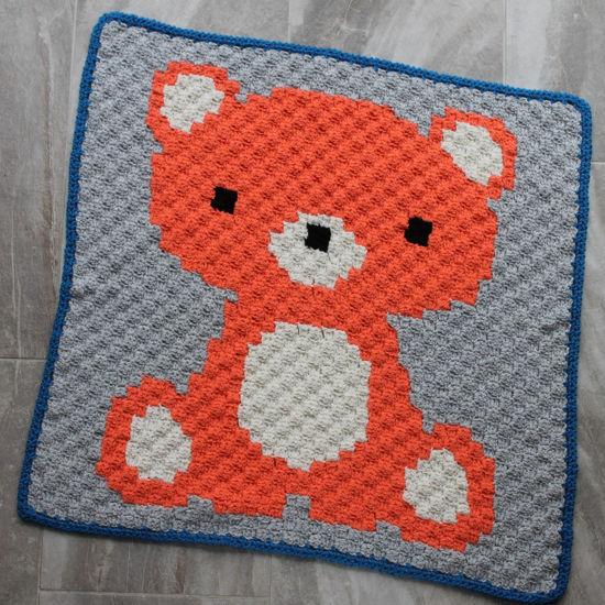 Picture of Bear Handmade Baby Blanket