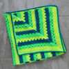 Picture of Bright Handmade Baby Blanket