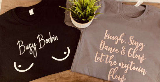 Picture of Adult Breastfeeding T-Shirts