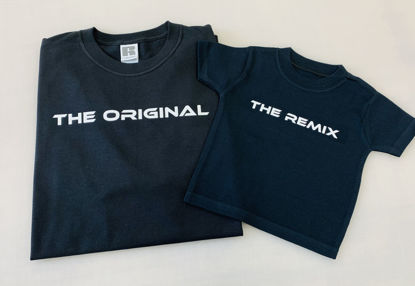 Picture of 'The Original' and 'The Remix' T-Shirt Sets