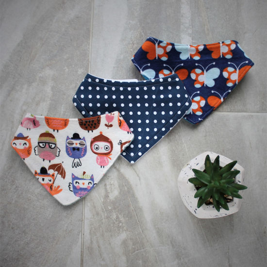 Picture of 0-3 Months Dribble Bibs