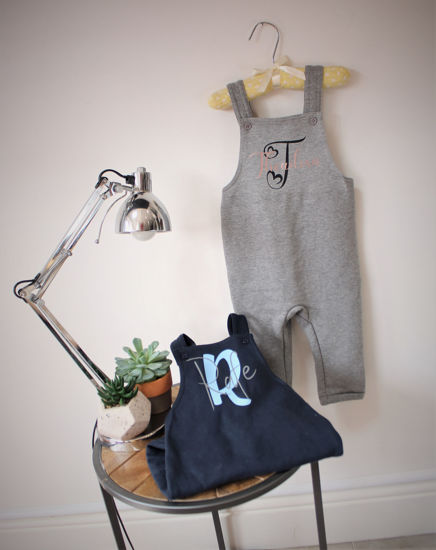 Picture of Personalised Soft Dungarees