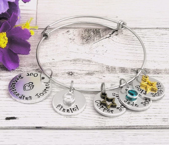 Picture of Breastfeeding Milestone Bracelet  Plus Personalisation
